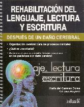 Rehabilitación del lenguaje, lectura y escritura