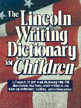 The Lincoln Writing dictionary for children