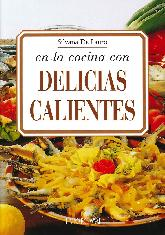en la cocina con Delicias Calientes