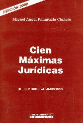 Cien Máximas Jurídicas
