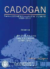 Cadogan Tomo III El libro de los hermanos Harry, Eric y Bronte (1887-1949)