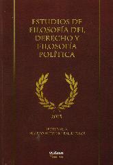 Estudios de Filosofía del Derecho y Filosofía Política