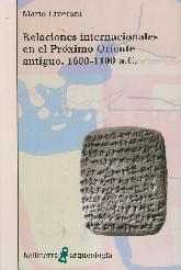 Relaciones internacionales en el Próximo Oriente antiguo, 1600 - 1100 a.C.