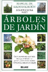 Manual de identificación de árboles de jardín