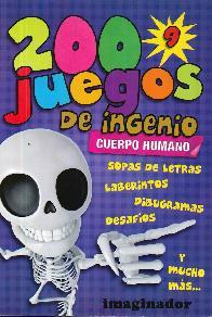 200 Juegos de Ingenio Cuerpo humano