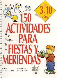 150 actividades para fiestas y meriendas