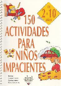 150 actividades para niños impacientes