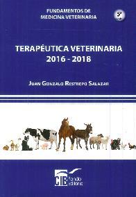 Terapéutica Veterinaria 2016-2018