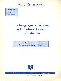 Los lenguajes artisticos y la lectura de las obras de arte