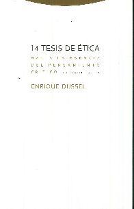 14 tesis de ética hacia la esencia del pensamiento crítico