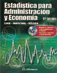 Estadistica para Administracion y Economia CD