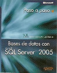 Bases de Datos con SQL Server 2005 paso a paso