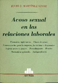 Acoso sexual en las relaciones laborales