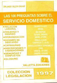 Cien preguntas sobre el servicio domestico, Las