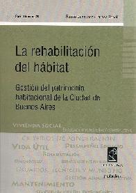 La rehabilitacion del hábitat