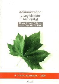 Administracion y Legislacion Ambiental