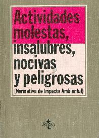 Actividades molestas, insalubres, nocivas y peligrosas