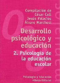 Desarrollo Psicologico y Educacion 2. Psicologia de la educacion escolar