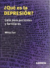 Que es la depresion?