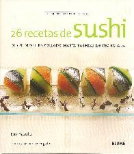 26 recetas de Sushi
