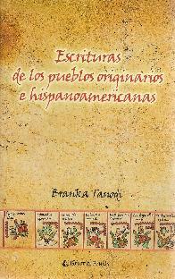 Escritura de los pueblos originarios e hispanoamericanas