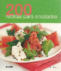 200 recetas para ensaladas