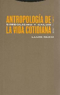 Antropología de la Vida Cotidiana