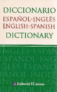 Diccionario Español-Ingles Ingles-Español Dictionary