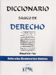 Diccionario básico de Derecho