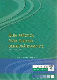 Guía práctica para evaluar democráticamente
