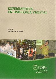 Experimentos en Fisiología Vegetal