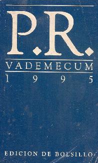 P.R. vademecum : edicion de bolsillo