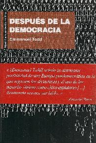 Después de la democracia