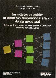 Los métodos de decisión multicriterio y su aplicación al análisis del desarrollo local