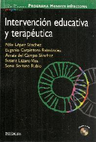 Intervención educativa y terapéutica