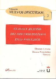 Claves y análisis del discurso político en el País Vasco