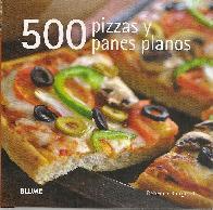 500 pizzas y panes planos