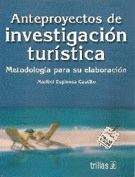 Anteproyecto de Investigación Turística