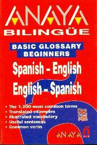 Anaya Bilingue Spanish English English Spanish