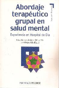 Abordaje terapéutico grupal en salud mental