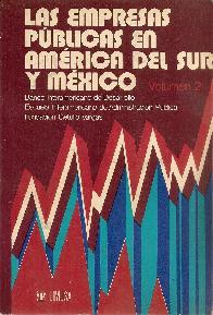 Las Empresas Publicas en -America del Sur y Mexico Vol II