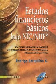 Estados financieros basicos bajo NIC/NIIF