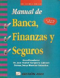 Manual de banca, finanzas y seguros