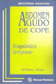 Abdomen Agudo de Cope: Diagnostico Temprano