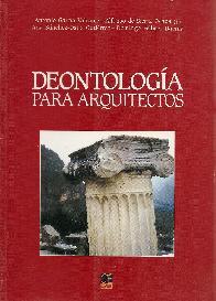 Deontología para arquitectos