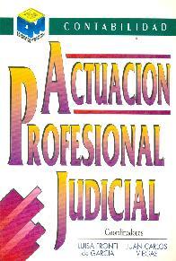 Actuación profesional judicial