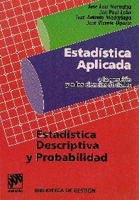 Estadistica aplicada a la gestion y a las ciencias sociales  Estadistica descriptiva y probabilidad