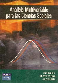 Analisis Multivariable para las Ciencias Sociales