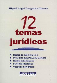 12 Temas Jurídicos