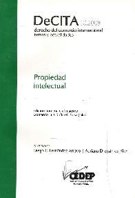 DeCITA 10.2009 Propiedad Intelectual